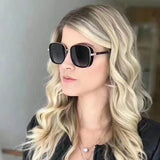 Female Fashion Sunglasses Women 2020 Square Designer Vintage Retro Driving Gradient Luxury Brand Sunglasses women's UV400 ELVA/S