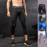 Fitness Men Running Tights Compression Pants Sports Leggings Fitness Sportswear Gym Training Leggins Jogger Jogging Trousers