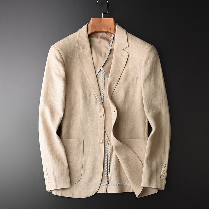 Blazer Man, Suit Jacket Spring Autumn Casual Male