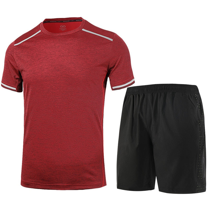 Men Basketball Jerseys, Gym Set Male Tennis Sports Suits Running Sets Training Suit Football Cycling Reflective Wear