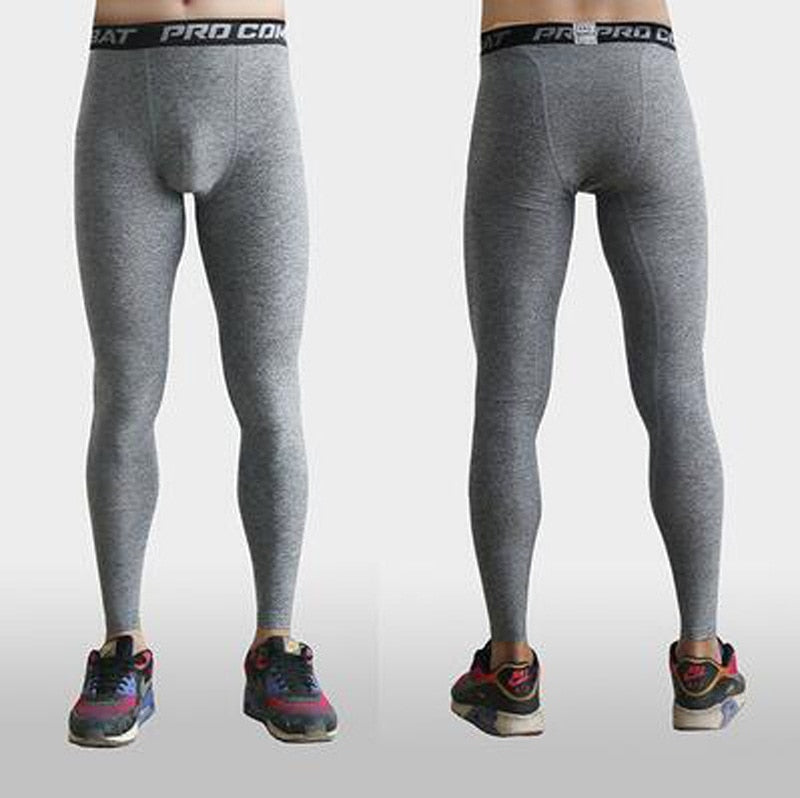 Men Basketball Pants Sports Running Tights Compression Jogging Leggings Fitness Gym Clothing Yoga Legging Trousers Training Wear