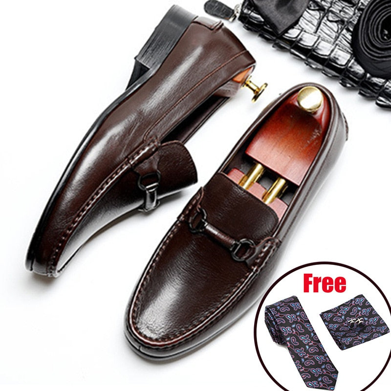 Men Genuine leather brogue Business Wedding banquet shoes mens casual flats shoes vintage handmade oxford shoes for men 2020