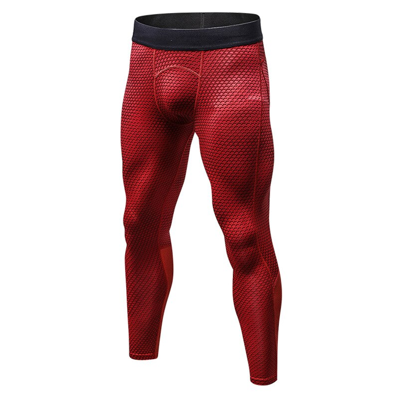 Men Sports Compression Wear Pants Boy Running Training Tights Fitness Workout Gym Trousers Clothing Thermal Skinny Jog Sweatpant