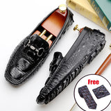 Men genuine cow leather brogue wedding Business banquet mens casual flats shoes vintage oxford shoes for men black burgundy 2020