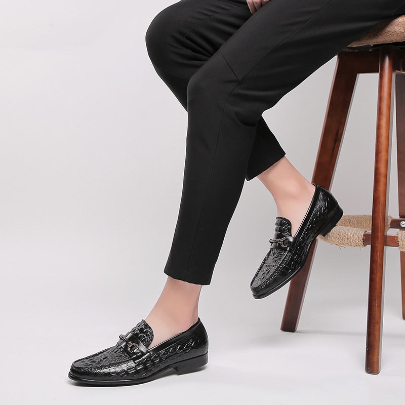 Men genuine leather casual shoes business dress banquet suit shoes men brand Bullock wedding oxford shoes for men black 2020