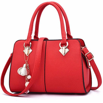 2020 women hardware ornaments solid totes handbag, lady party purse casual crossbody messenger shoulder bags