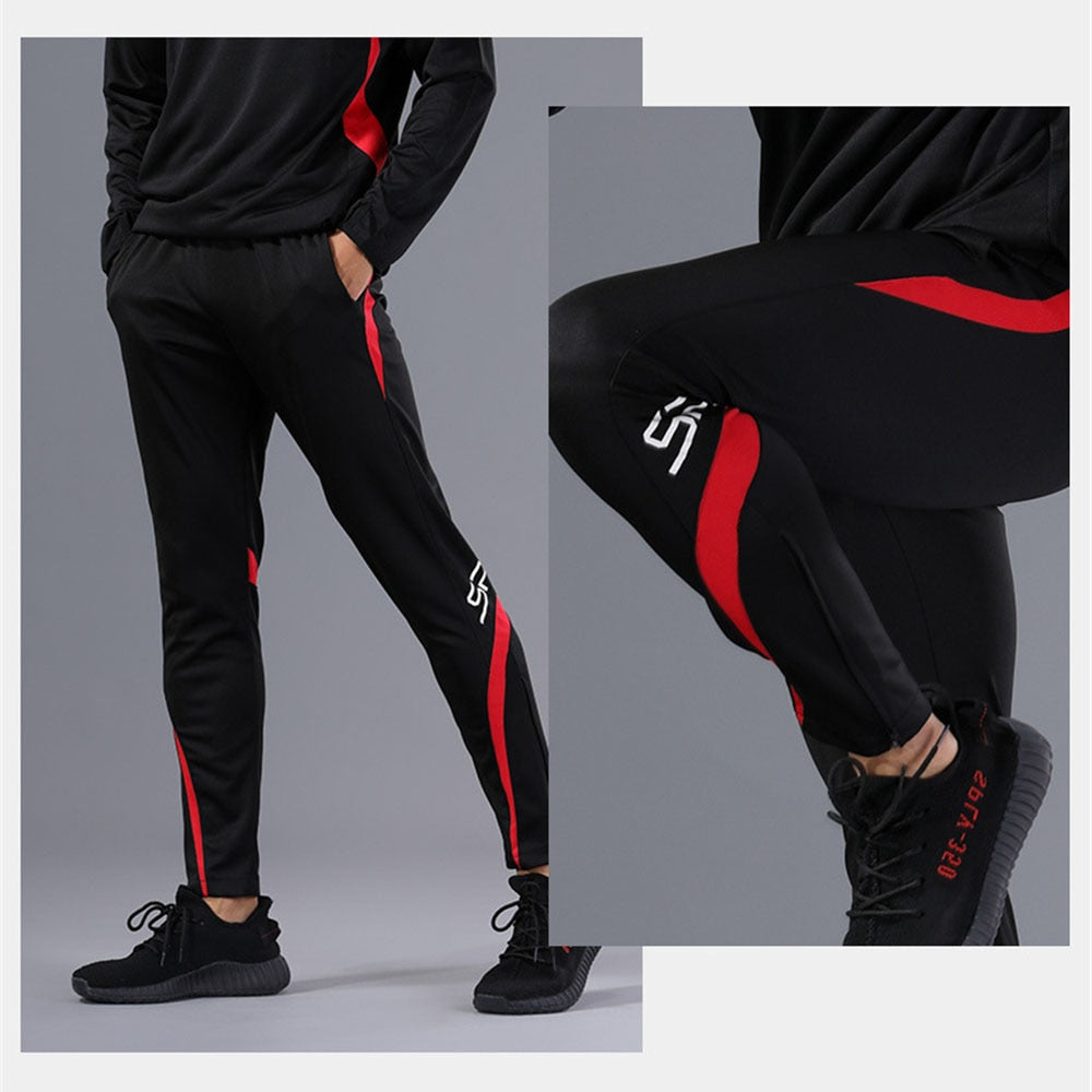 Professional Men's Fitness Running Pants Quick Drying Cycling Male Gym Jogging Pant Sport Leggings Full Length Training Trousers