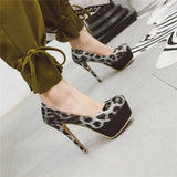 High Heels Woman Pumps, Wedding Party Shoes