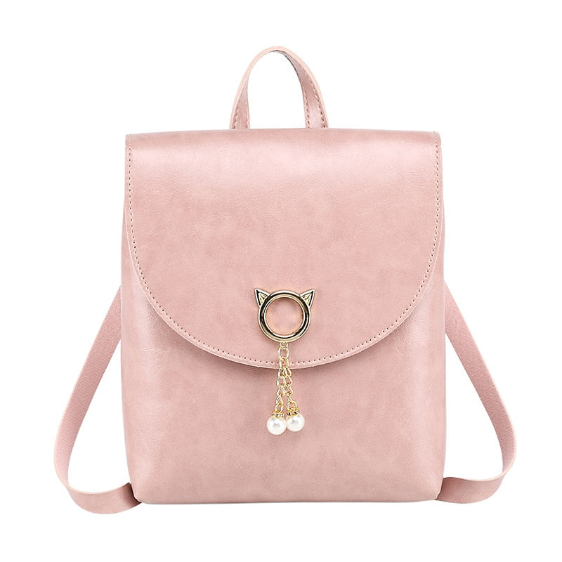 Small Bag For Women Sweet Bag PU Leather Ladies Shoulder Bags Tassenle Mini Messenger Bag Girls Party Crossbody Bags