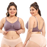 Women Plus Size Sports Bra ,Breathable Maternity Nursing Bras