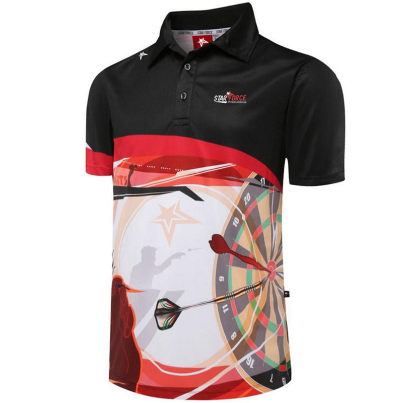 Men Darts Polo Shrit