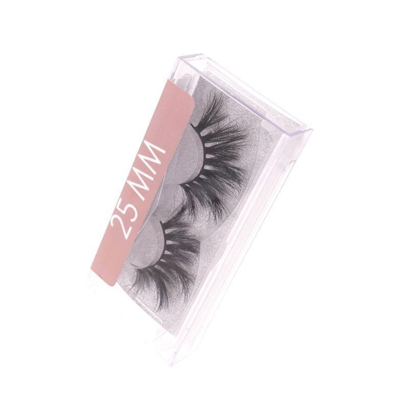 February 3D Mink Lashes 25mm - Lashes.com