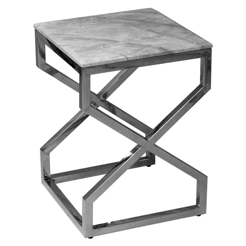 Amalfi Silver Nesting Tables