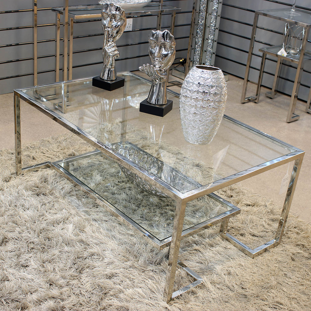 Seville Silver Coffee Table