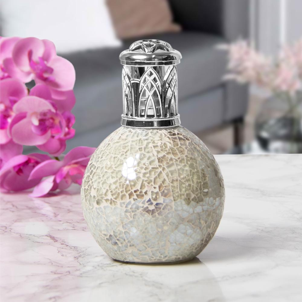 Desire Aroma Pearl Mosaic Crackled Glass Fragrance Oil Lamp - Bonnypack
