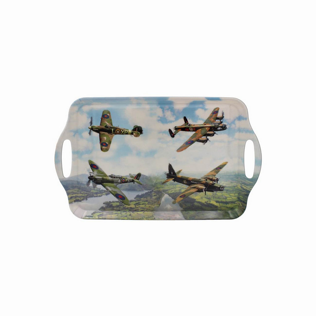 Large Classic Planes Design Serving Tray
