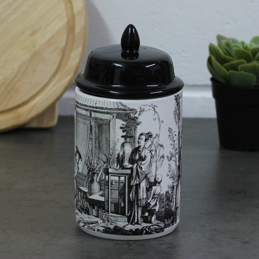 Monochrome People Design Canister - Bonnypack