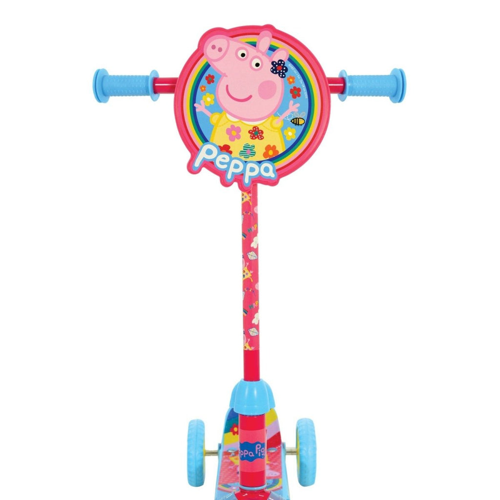 Peppa Pig Foldable Adjustable Inline Push Tri Scooter - Bonnypack