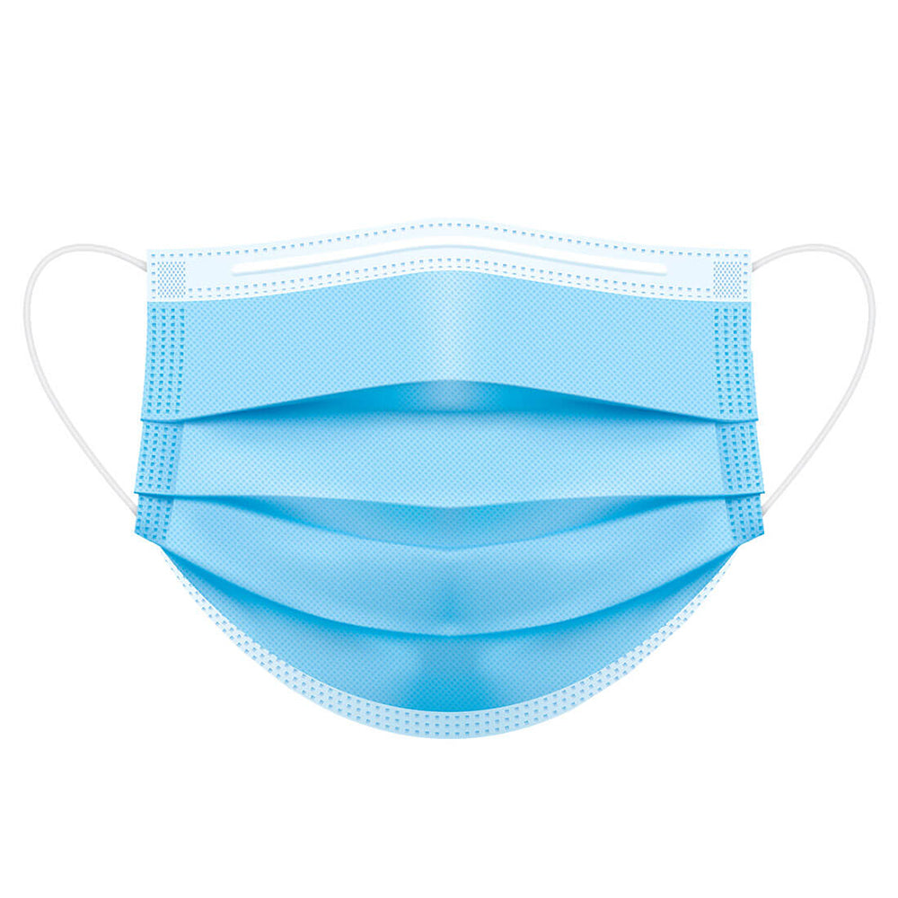 Disposable Medical Face Mask Type IIR, P031, Blue, 50 pcs