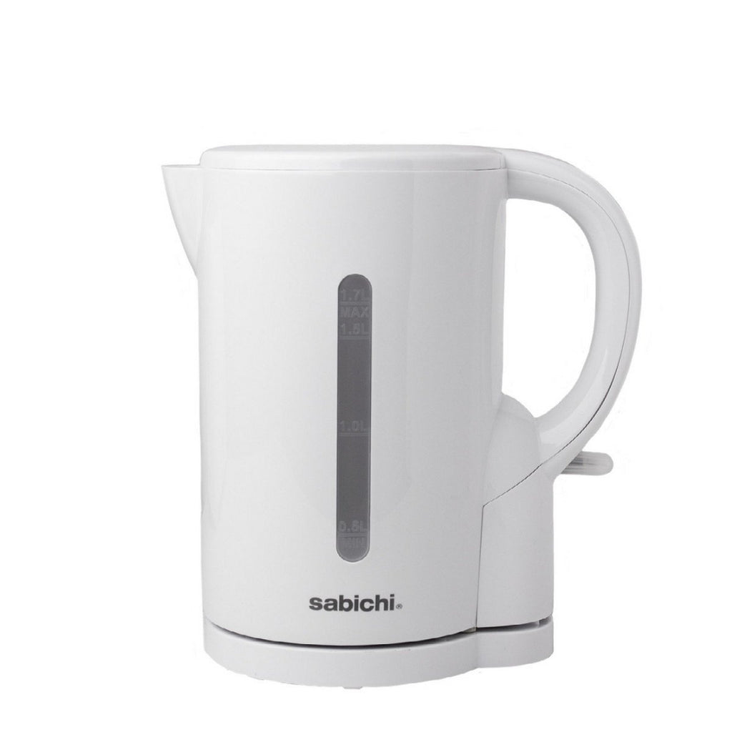 Sabichi White Essentials 1.7 Litre Cordless Kettle - Bonnypack