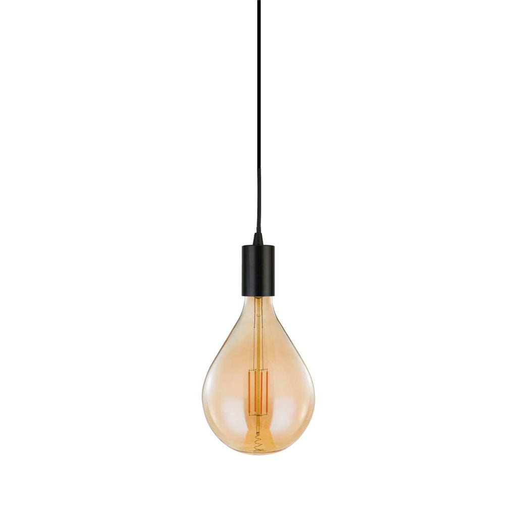 Searchlight Giant LED Spiral Filament Bulb Amber - Searchlight