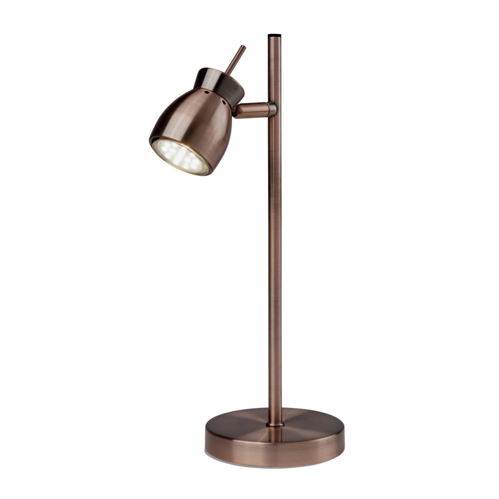 Searchlight Jupiter Antique Copper 1 Light Table Lamp - Bonnypack