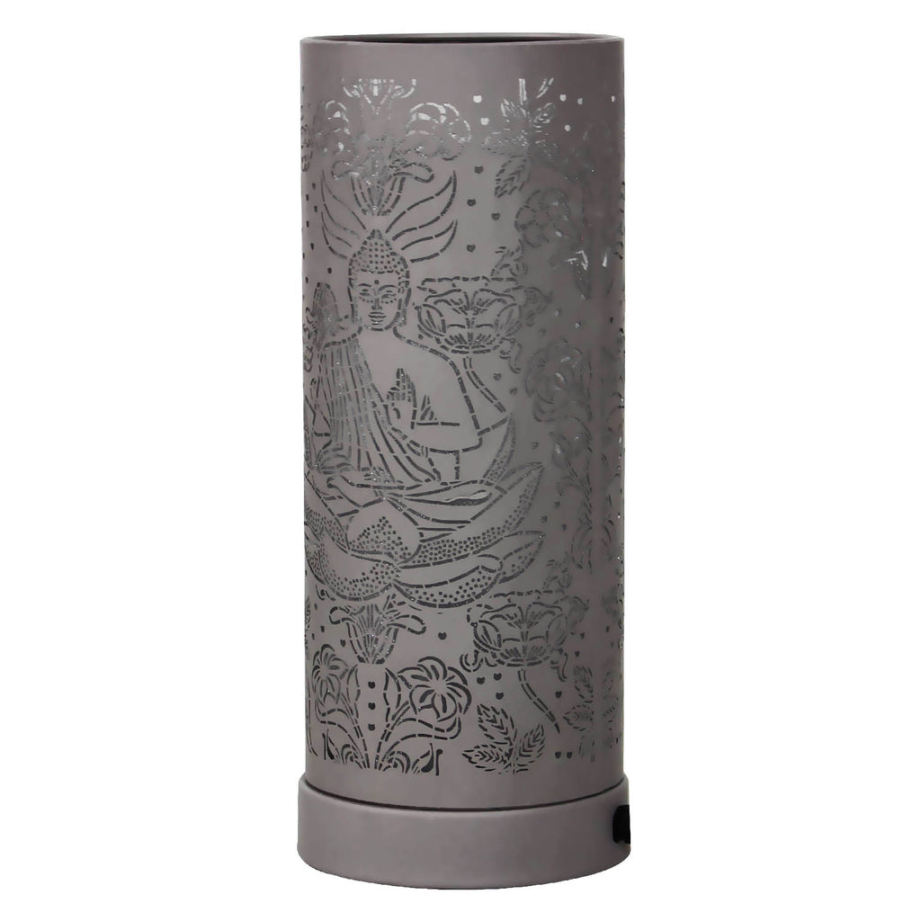 Buddha Led Oil Burner - Grey