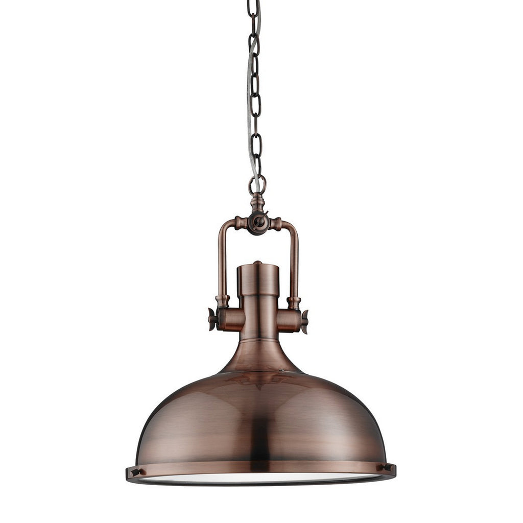 Antique Copper Industrial Ceiling Pendant Light Fitting