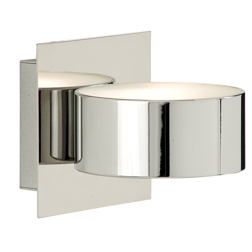 40Watts Halogen Chrome Circular Glass Bathroom Wall Bracket Light