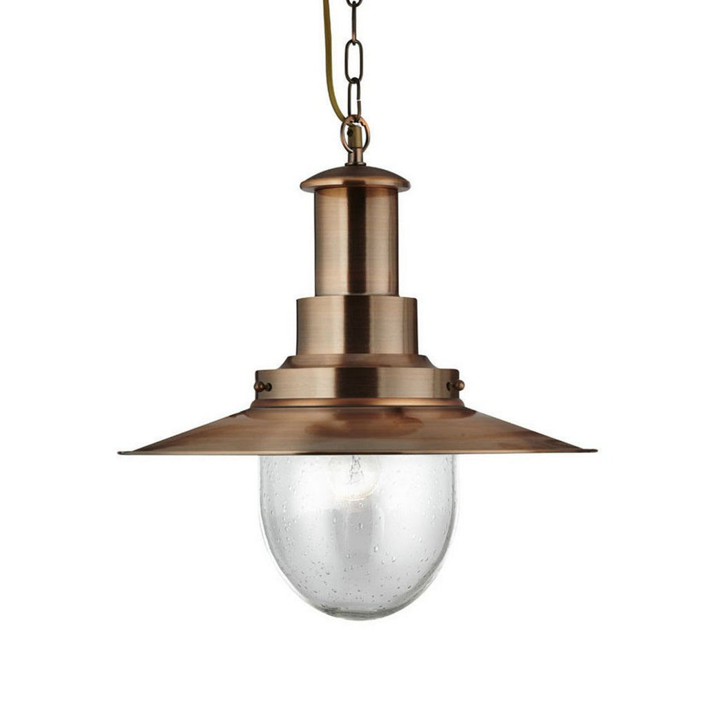 Fisherman Copper Home Office Ceiling Light Pendant