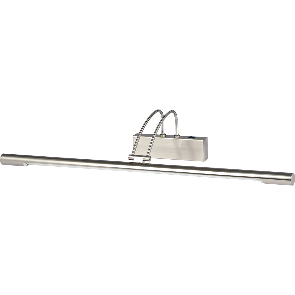 66cm Tube Silver Modern Hallway Wall Picture Light Fixture Lighting