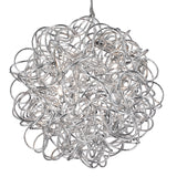 6 Lights Scribble Tangled Aluminium Pendant Chandelier Ceiling Light
