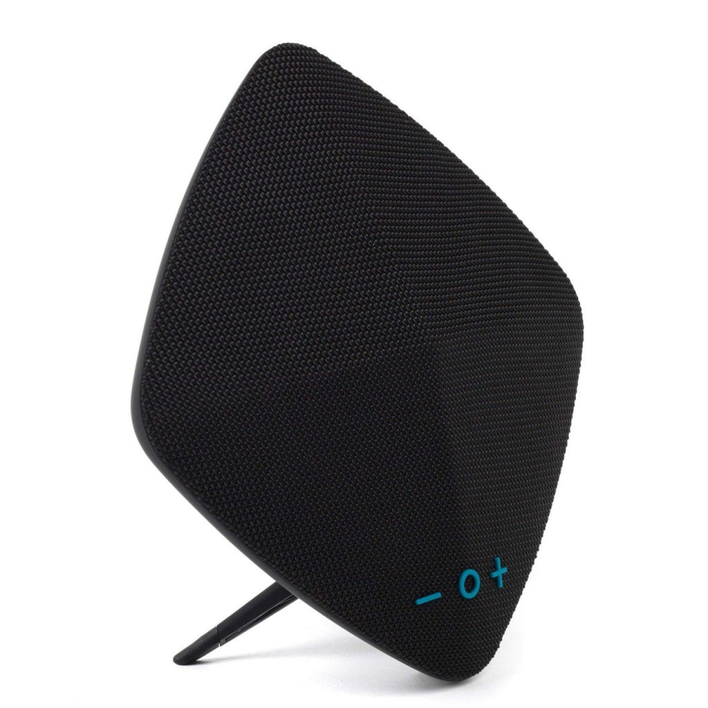 Wireless Bluetooth Rechargeable 6W Black Diamond Fabric Speaker - Bonnypack