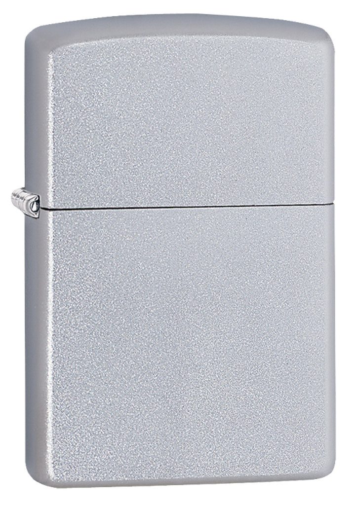 Zippo Classic Satin Chrome Windproof Cigarette Lighter