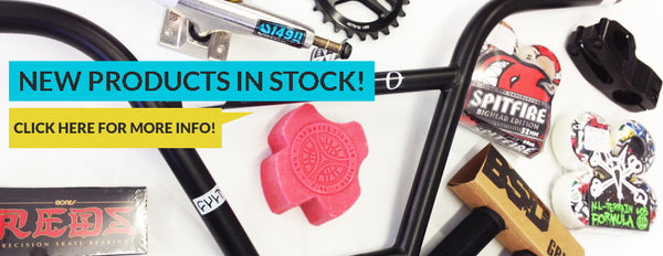 BMX, Skate, BMX Bikes,Skateboards, Skate parts, Skate decks, trucks, skate wheels, bearings, griptape, available from The Boardroom, BMX and Skate Shop, Greystones, Wicklow, Ireland. BMX, BMX Bikes, BMX parts, BMX Shop, BMX Shop, BMX frames, BMX Forks, BMX Handlebars, BMX Hubs, Freecoasters, BMX Grips, Boardroom, Greystones, Wicklow, Ireland