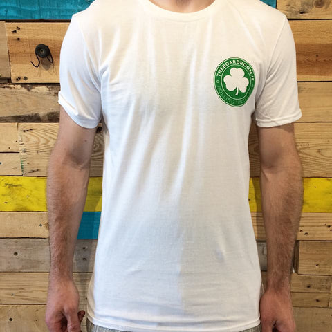 Boardroom Green Shamrock Tee's