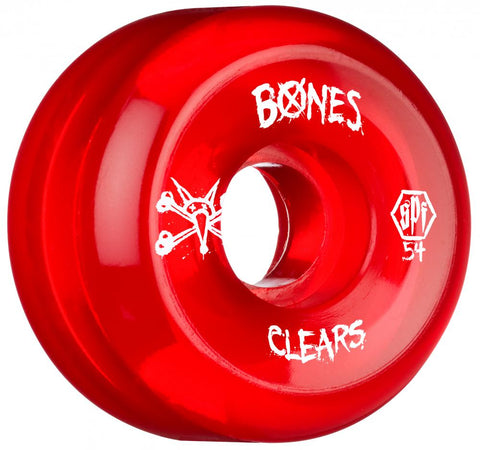 Bones Wheels - SPF Clears