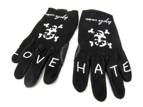 Bicycle Union - Cuff less glove LOVE/HATE