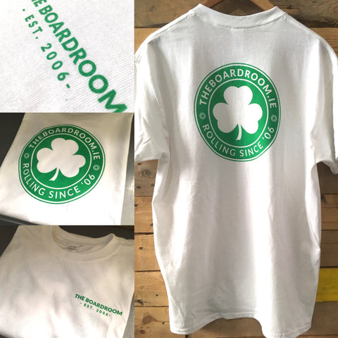 Boardroom Locals T-shirt Green print