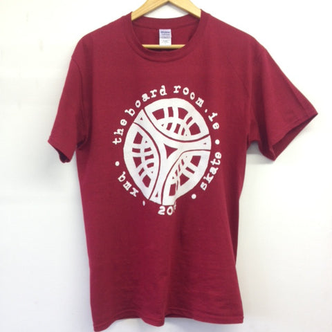 TBR - Classic logo T-shirt - Antique cherry red