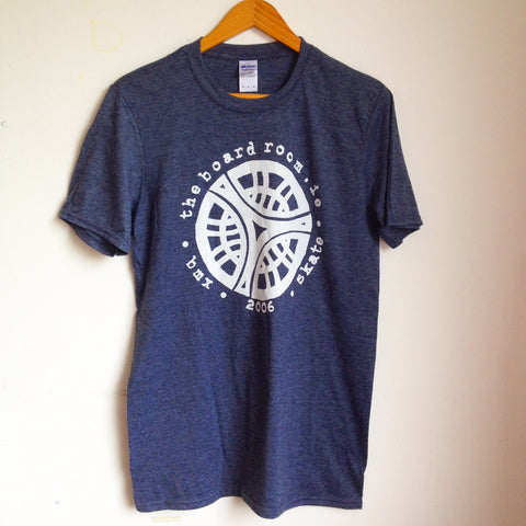 TBR - Classic logo T-shirt - Heather Navy