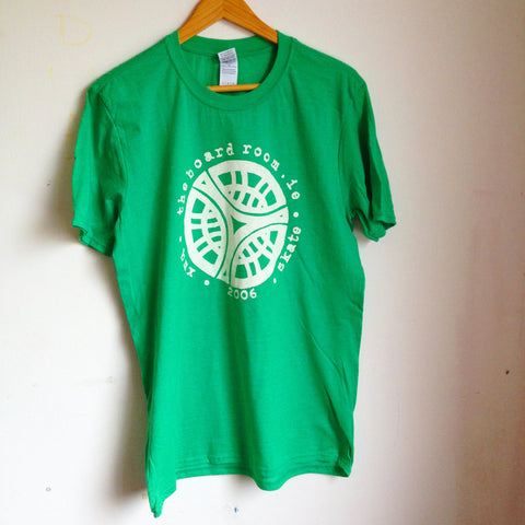 TBR - Classic logo T-shirt - Antique Irish Green