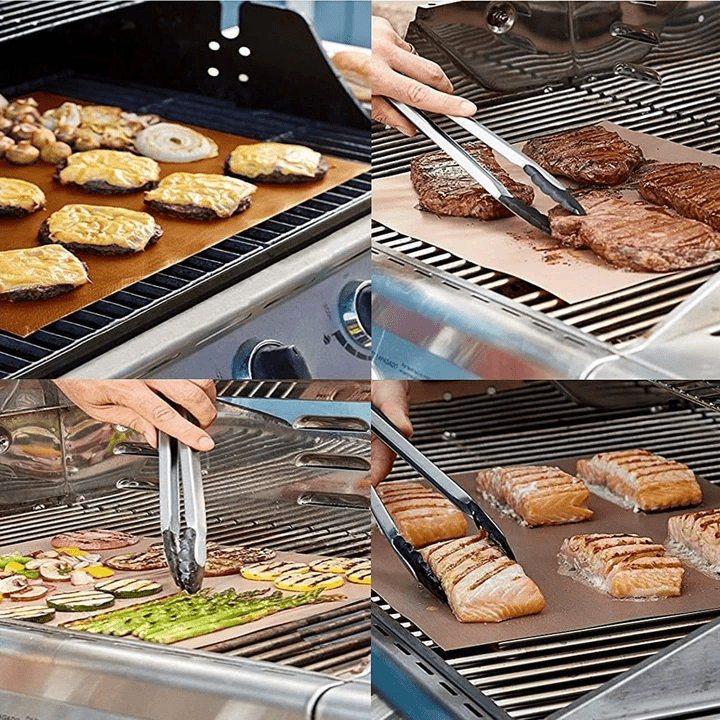 Mintiml Grill Mat [3Pcs] (version 2019)