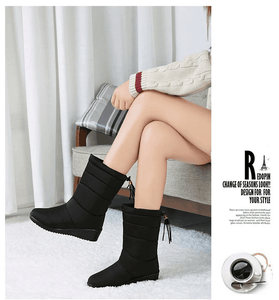 BELLEJOY - Waterproof Faux Fur Snow Boots