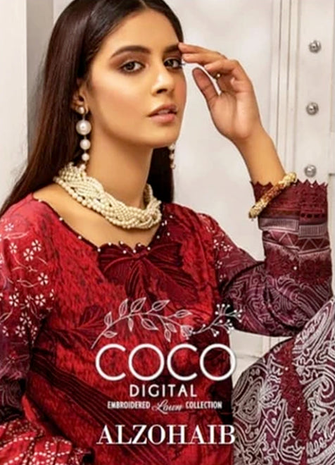 Coco Digital Embroidered collection