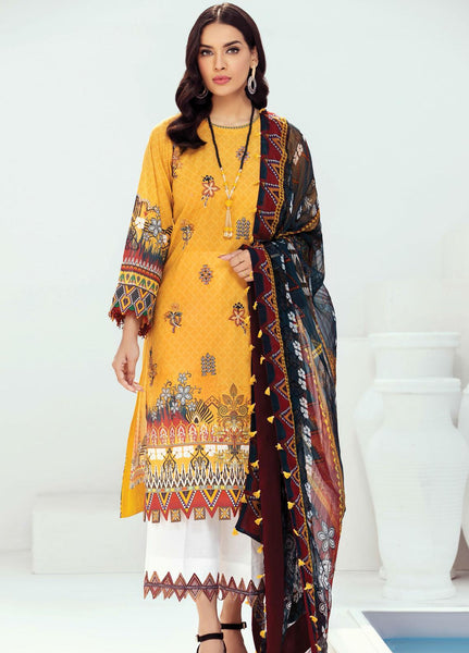 Farasha Embroidered Lawn Suits Unstitched 3 Piece Design 09