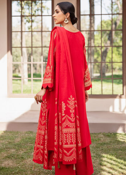 Orient Festive Lawn 258 Red