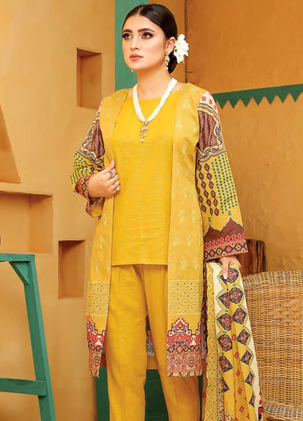 Lakhany LSM Embroidered Trouser Unstitched EB-2097