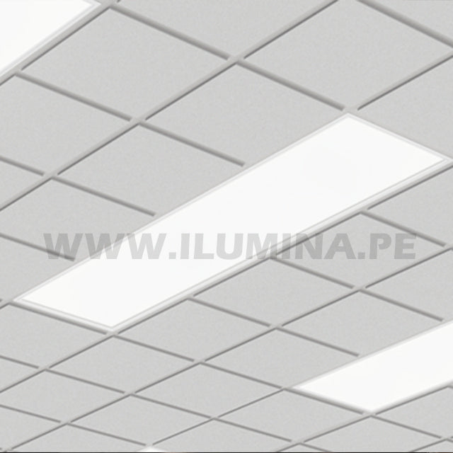 PANEL LED RECTANGULAR 40W 1200X300