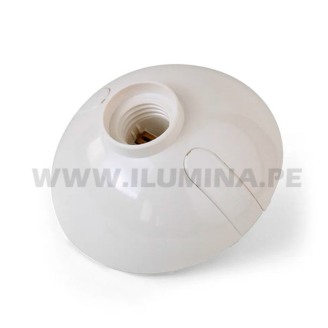 Wall Socket E27 Oval